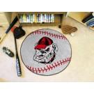 "Georgia Bulldogs ""Bulldog"" 27"" Round Baseball Mat"