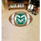 "22"" x 35"" Colorado State Rams Football Mat"