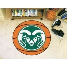 "27"" Round Colorado State Rams Basketball Mat"