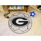"Georgia Bulldogs ""G"" 27"" Round Soccer Mat"