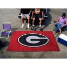 "Georgia Bulldogs ""G"" 5' x 8' Ulti Mat (Red) by"
