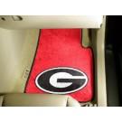 "Georgia Bulldogs ""G"" 17"" x 27"" Carpet Auto Floor Mat (Set of 2 Car Mats)"