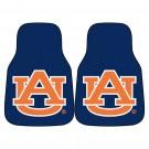 "Auburn Tigers 17"" x 27"" Carpet Auto Floor Mat (Set of 2 Car Mats - with ""AU"")"