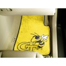 "Georgia Tech Yellow Jackets 27"" x 18"" Auto Floor Mat (Set of 2 Car Mats - Yellow)"