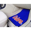 "Florida Gators 17"" x 27"" Carpet Auto Floor Mat (Set of 2 Car Mats - with ""Gators"")"
