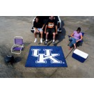 "5' x 6' Kentucky Wildcats Tailgater Mat (with ""UK"")"