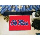 "Mississippi (Ole Miss) Rebels ""Ole Miss"" 19"" x 30"" Starter Mat"
