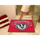 "Wisconsin Badgers 34"" x 45"" All Star Floor Mat"