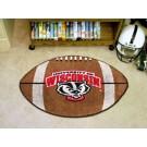 """Wisconsin Badgers 22"""" x 35"""" Football Mat"""