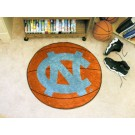 "27"" Round North Carolina Tar Heels Basketball Mat (with ""NC"")"