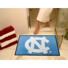 "34"" x 45"" North Carolina Tar Heels All Star Floor Mat (with ""NC"")"