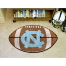 "22"" x 35"" North Carolina Tar Heels Football Mat (with ""NC"")"