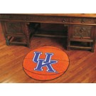 "27"" Round Kentucky Wildcats Basketball Mat (with ""UK"")"