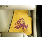 "Arizona State Sun Devils 17"" x 27"" Carpet Auto Floor Mat (Set of 2 Car Mats)"