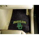 "Baylor Bears 17"" x 27"" Carpet Auto Floor Mat (Set of 2 Car Mats)"
