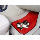 "Boston Terriers 17"" x 27"" Carpet Auto Floor Mat (Set of 2 Car Mats)"