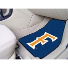 "California State (Fullerton) Titans 27"" x 18"" Auto Floor Mat (Set of 2 Car Mats)"