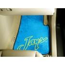 "Creighton Blue Jays 17"" x 27"" Carpet Auto Floor Mat (Set of 2 Car Mats)"