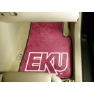 "Eastern Kentucky Colonels 17"" x 27"" Carpet Auto Floor Mat (Set of 2 Car Mats)"