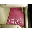 """Eastern Kentucky Colonels 27"""" x 18"""" Auto Floor Mat (Set of 2 Car Mats)"""