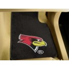 "Illinois State Redbirds 17"" x 27"" Carpet Auto Floor Mat (Set of 2 Car Mats)"