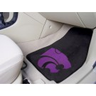 "Kansas State Wildcats 17"" x 27"" Carpet Auto Floor Mat (Set of 2 Car Mats)"