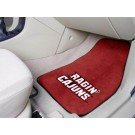"Louisiana (Lafayette) Ragin' Cajuns 17"" x 27"" Carpet Auto Floor Mat (Set of 2 Car Mats)"