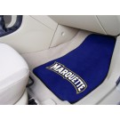 "Marquette Golden Eagles 17"" x 27"" Carpet Auto Floor Mat (Set of 2 Car Mats)"