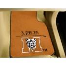 "Mercer (Atlanta) Bears 17"" x 27"" Carpet Auto Floor Mat (Set of 2 Car Mats)"