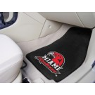 "Miami (Ohio) RedHawks 27"" x 18"" Auto Floor Mat (Set of 2 Car Mats)"