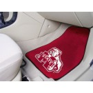"Mississippi State Bulldogs 17"" x 27"" Carpet Auto Floor Mat (Set of 2 Car Mats)"