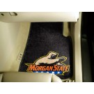 "Morgan State Bears 27"" x 18"" Auto Floor Mat (Set of 2 Car Mats)"