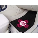 "New Mexico State Aggies 17"" x 27"" Carpet Auto Floor Mat (Set of 2 Car Mats)"