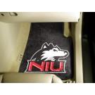 """Northern Illinois Huskies 27"""" x 18"""" Auto Floor Mat (Set of 2 Car Mats)"""