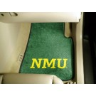 "Northern Michigan Wildcats 17"" x 27"" Carpet Auto Floor Mat (Set of 2 Car Mats)"
