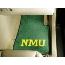 "Northern Michigan Wildcats 27"" x 18"" Auto Floor Mat (Set of 2 Car Mats)"