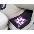"New York Bobcats 17"" x 27"" Carpet Auto Floor Mat (Set of 2 Car Mats)"