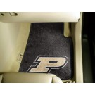 "Purdue Boilermakers 17"" x 27"" Carpet Auto Floor Mat (Set of 2 Car Mats)"