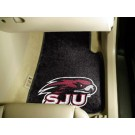 "St. Joseph's Hawks 17"" x 27"" Carpet Auto Floor Mat (Set of 2 Car Mats)"