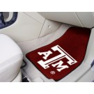 "Texas A & M Aggies 17"" x 27"" Carpet Auto Floor Mat (Set of 2 Car Mats)"