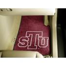 "Texas Southern Tigers 27"" x 18"" Auto Floor Mat (Set of 2 Car Mats)"