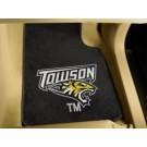 "Towson Tigers 17"" x 27"" Carpet Auto Floor Mat (Set of 2 Car Mats)"