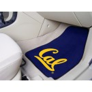 "California (UC Berkeley) Golden Bears 17"" x 27"" Carpet Auto Floor Mat (Set of 2 Car Mats)"