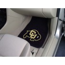 "Colorado Buffaloes 17"" x 27"" Carpet Auto Floor Mat (Set of 2 Car Mats)"