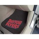 """Dayton Flyers 27"""" x 18"""" Auto Floor Mat (Set of 2 Car Mats)"""