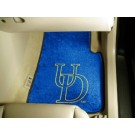 "Delaware Fightin' Blue Hens 27"" x 18"" Auto Floor Mat (Set of 2 Car Mats)"