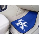 "Kentucky Wildcats 17"" x 27"" Carpet Auto Floor Mat (Set of 2 Car Mats - with ""UK"")"