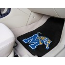"Memphis Tigers 17"" x 27"" Carpet Auto Floor Mat (Set of 2 Car Mats)"