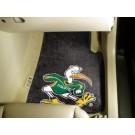"""Miami Hurricanes """"Sebastian"""" 17"""" x 27"""" Carpet Auto Floor Mat (Set of 2 Car Mats)"""