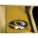 "Missouri Tigers 17"" x 27"" Carpet Auto Floor Mat (Set of 2 Car Mats)"